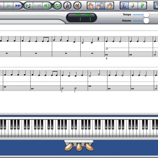 A Jazzy Xmas Book 1 PDF-MIDI Album Screenshot A