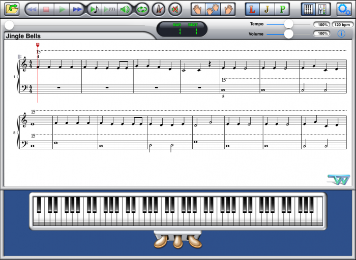 A Jazzy Xmas Book 1 PDF-MIDI Album Screenshot A