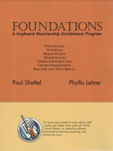 Foundations by Paul Sheftel