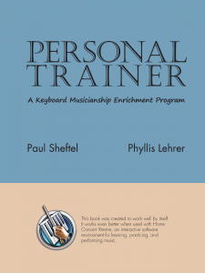 Personal Trainer Level 4 MIDI Files by Paul Sheftel