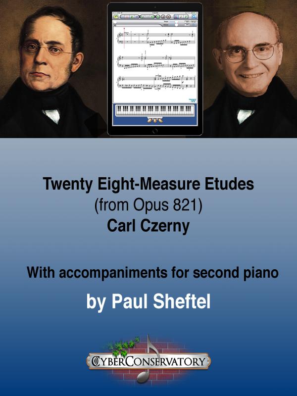 Twenty Eight-Measure Etudes Cover