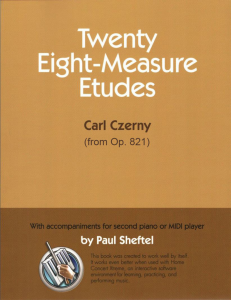 Twenty Eight-Measure Etudes by Paul Sheftel