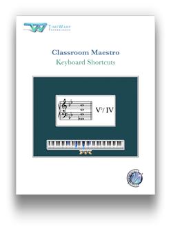 Classroom Maestro Keyboard Shortcuts