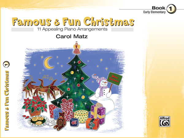Famous & Fun Christmas Book 1