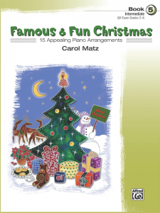 Famous & Fun Christmas Book 5