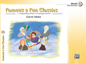 Famous & Fun Classics Book 1