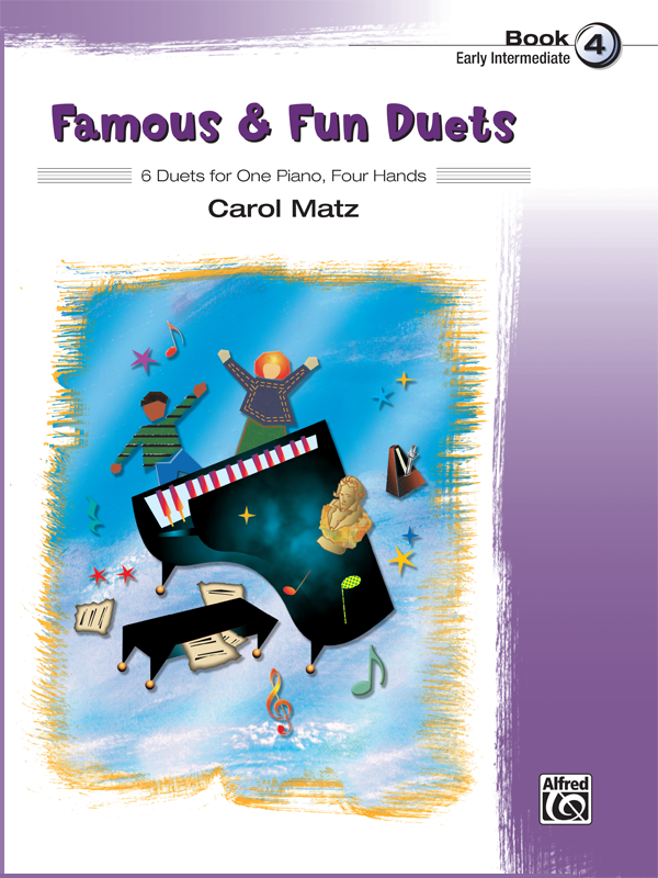 Famous & Fun Duets Book 4