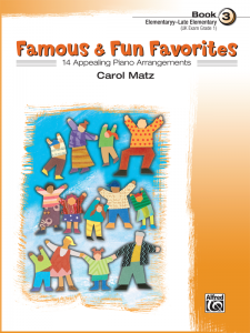 Famous & Fun Favorites Book 3