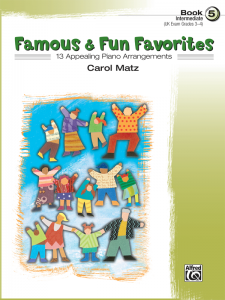 Famous & Fun Favorites Book 5