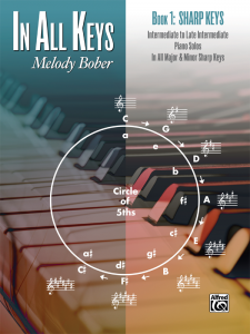 In All Keys Book 1 – Sharp Keys by Melody Bober