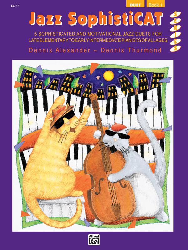 Jazz SophistiCAT Duet Book 1
