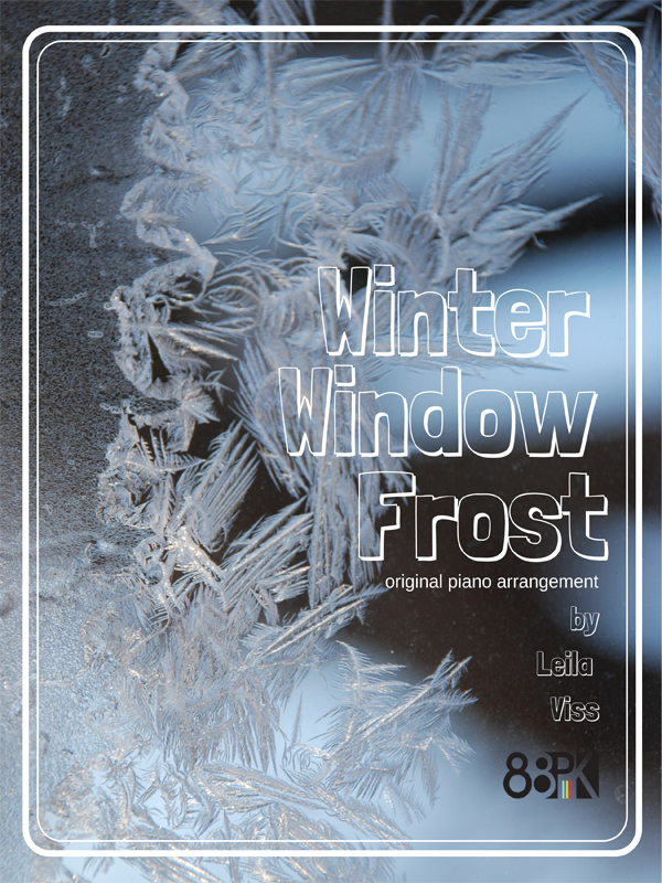Winter Window Frost by Leila Viss