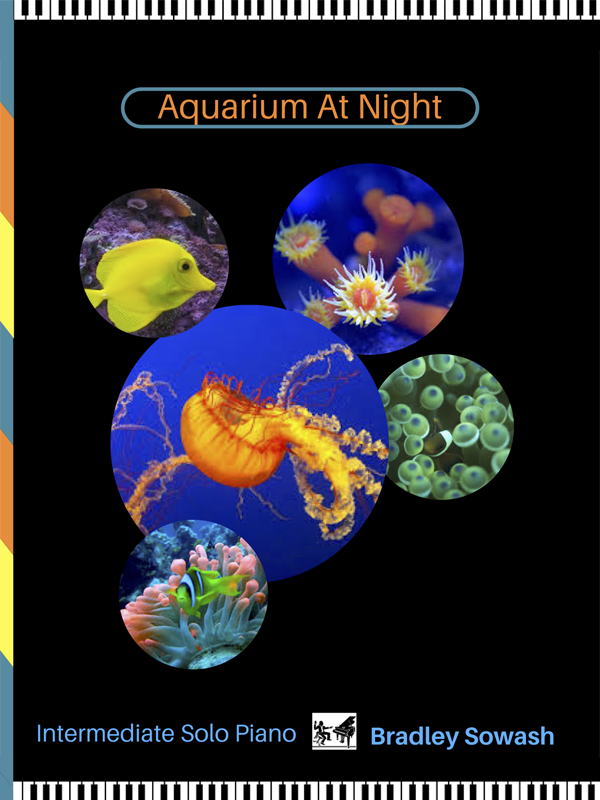 Aquarium at Night by Bradley Sowash
