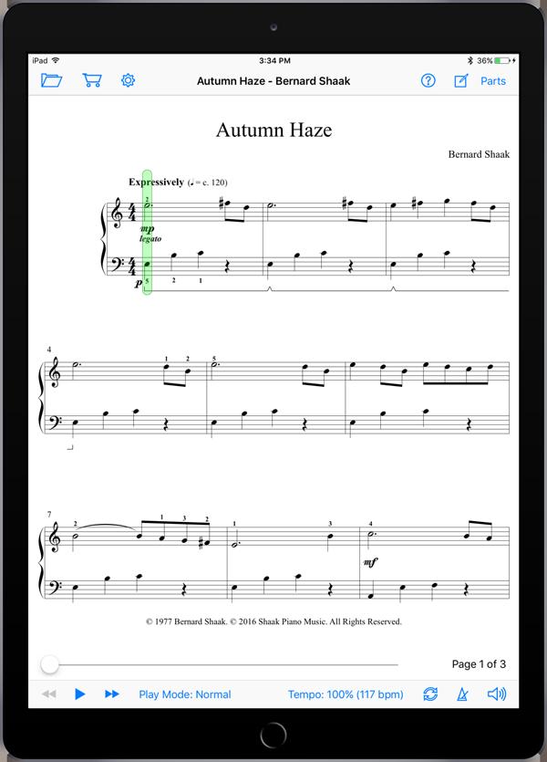 Autumn Haze by Bernard Shaak