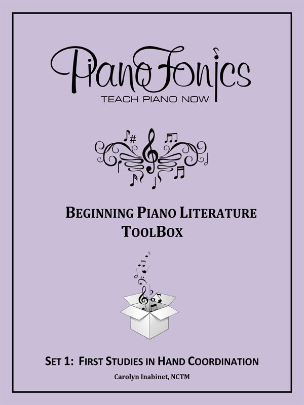 Beginning Piano Literature - Set 1- First Studies in Hand Coordination