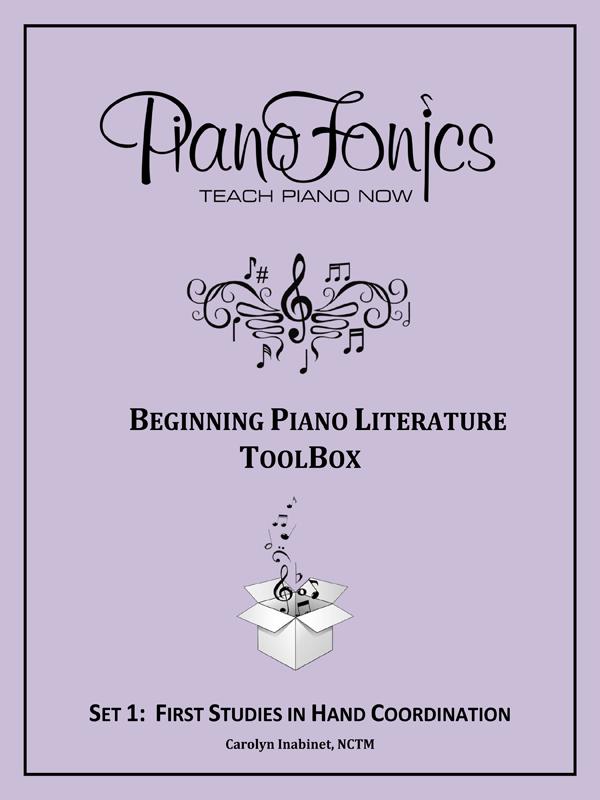 Beginning Piano Literature - Set 1- First Studies in Hand Coordination