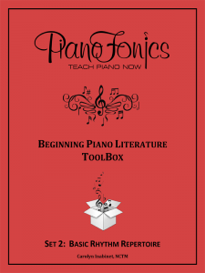 Beginning Piano Literature - Set 2- Basic Rhythm Repertoire