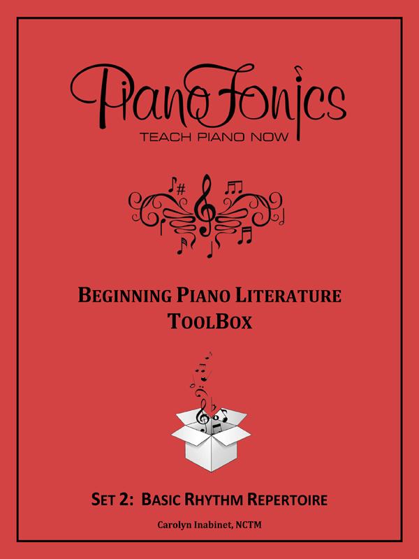 Beginning Piano Literature - Set 2- Basic Rhythm Repertoire
