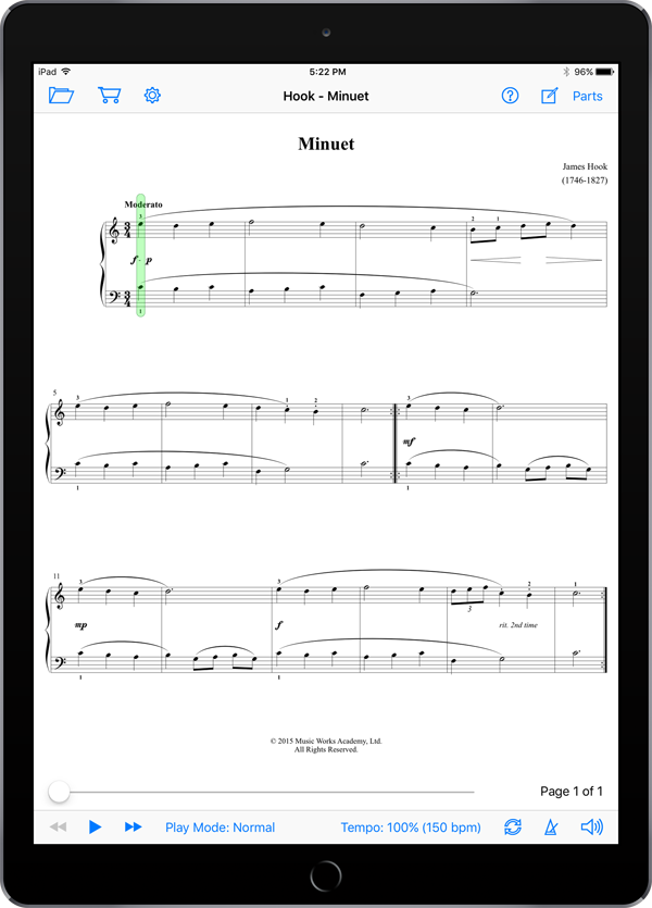 Beginning Piano Literature Toolbox – Set 2: Basic Rhythm Repertoire