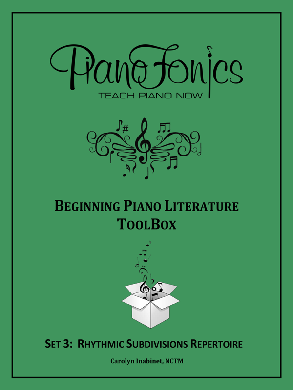 Beginning Piano Literature - Set 3 - Rhythmic Subdivisions Repertoire