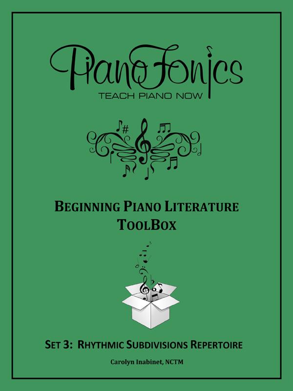 Beginning Piano Literature - Set 3 - Rhythmic Subdivisions Repertoire