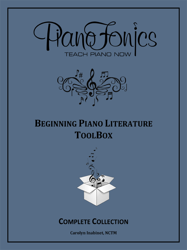 Beginning Piano Literature ToolBox - Complete Collection