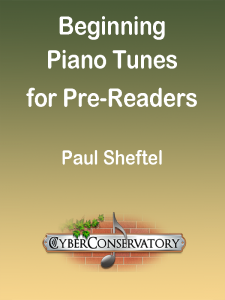 Beginning Piano Tunes for Pre-Readers