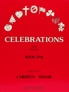 Celebrations for Piano Book 1