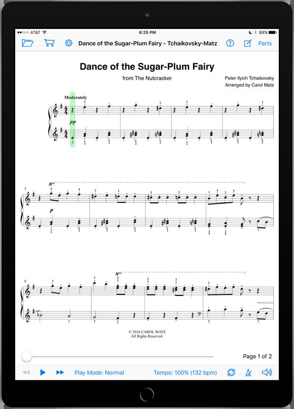 Dance of the Sugar-Plum Fairy – Tchaikovsky-Matz