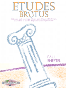 Etudes Brutus by Paul Sheftel – MIDI Edition