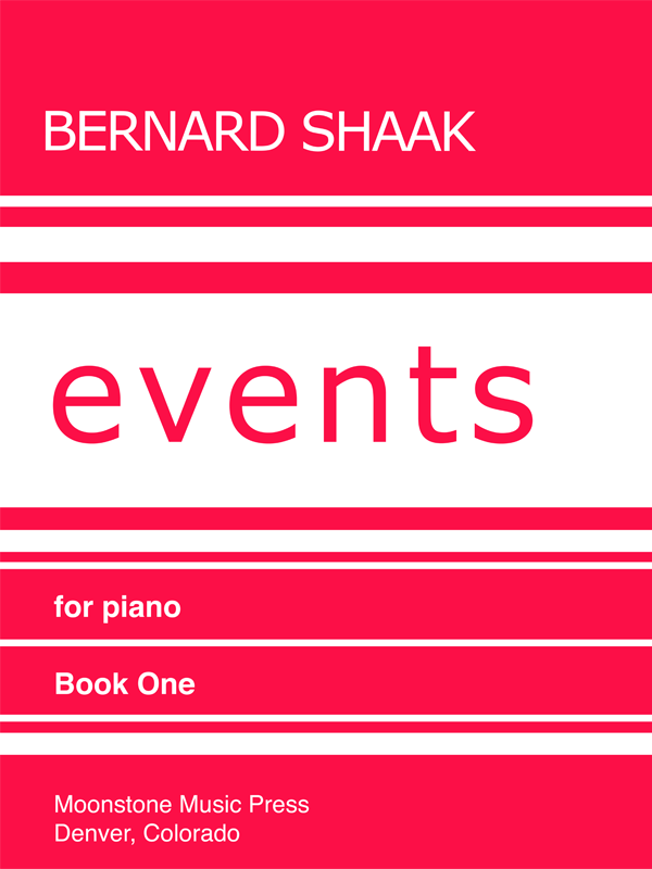 Events for Piano Book 1