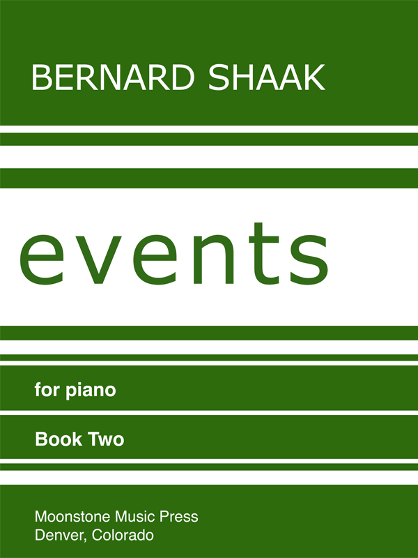 Events for Piano Book 2
