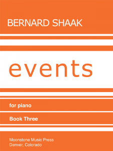 Events for Piano Book 3