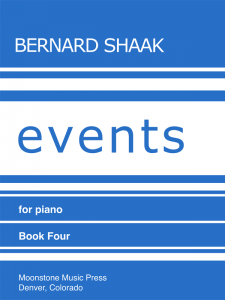 Events for Piano Book 4