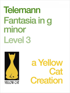 Fantasia in G Minor by Georg Philipp Telemann