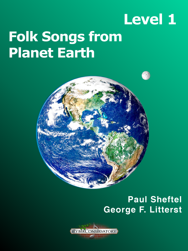 Folk Songs from Planet Earth Level 1 Cover