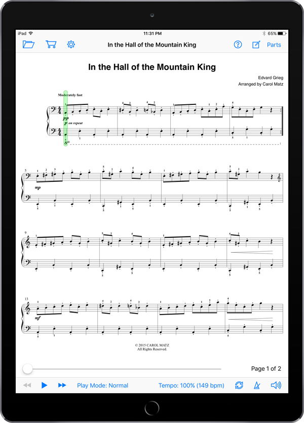 In the Hall of the Mountain King – Grieg-Matz