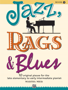 Jazz, Rags & Blues Book 1 by Martha Mier