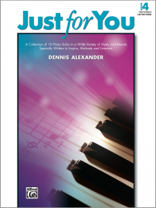 Just for You Book 4 by Dennis Alexander
