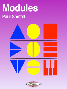 Modules by Paul Sheftel – MIDI Edition