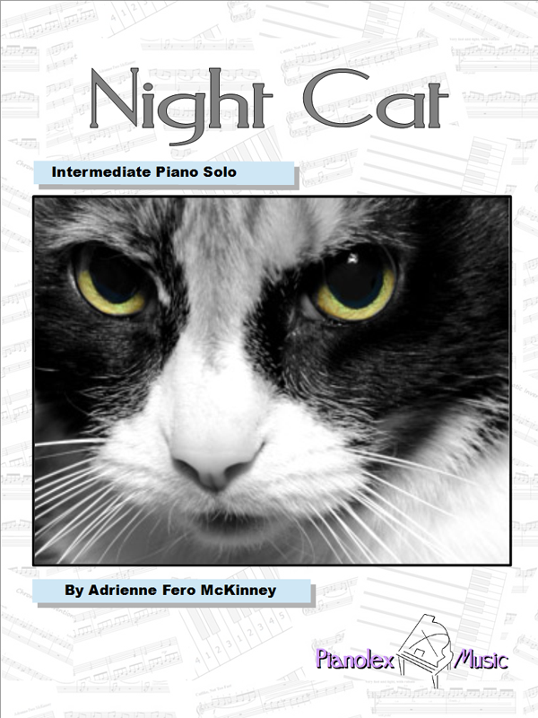 Night Cat by Adrienne McKinney