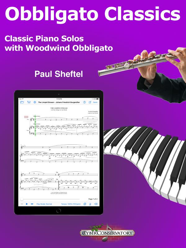 Obbligato Classics for Piano and Woodwind