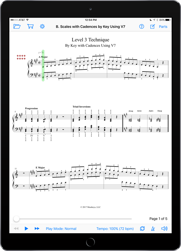 Piano Technical Exercises: Interactive! (Level 3)
