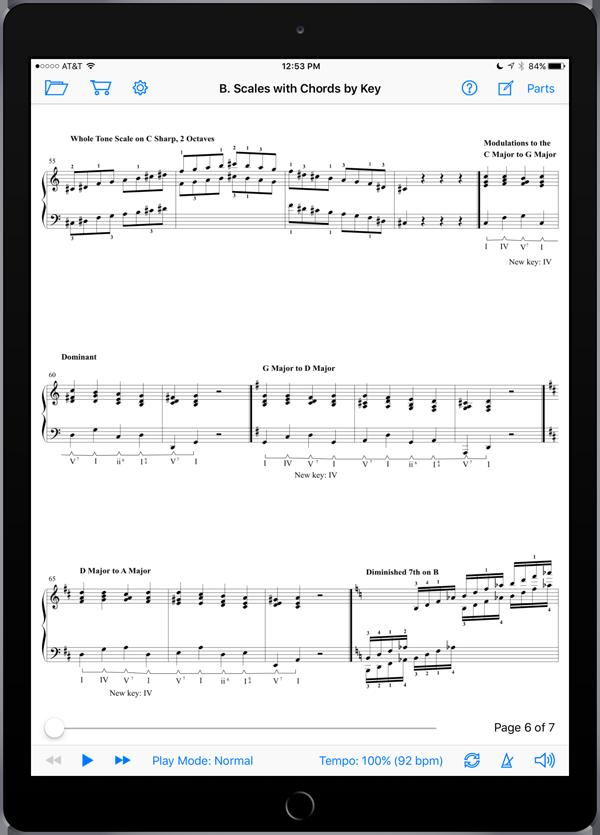 Piano Technical Exercises: Interactive! (Level 8)