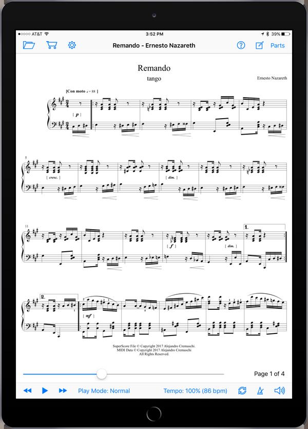 Remando by Ernesto Nazareth