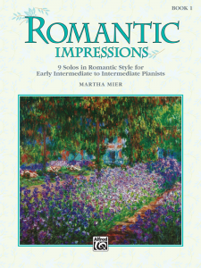 Romantic Impressions Book 1