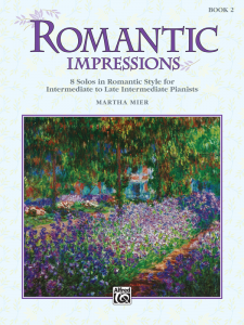 Romantic Impressions Book 2 by Martha Mier