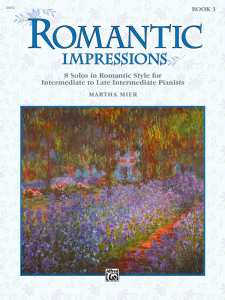 Romantic Impressions Book 3 by Martha Mier