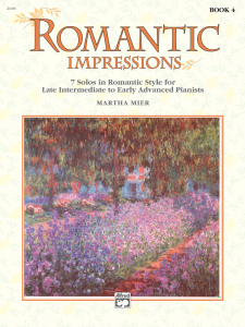 Romantic Impressions Book 4 by Martha Mier