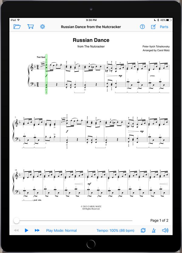 Russian Dance – Tchaikovsky-Matz